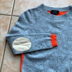 J. Crew Dream ColorBlock Elbow-Patch Sweater XXS